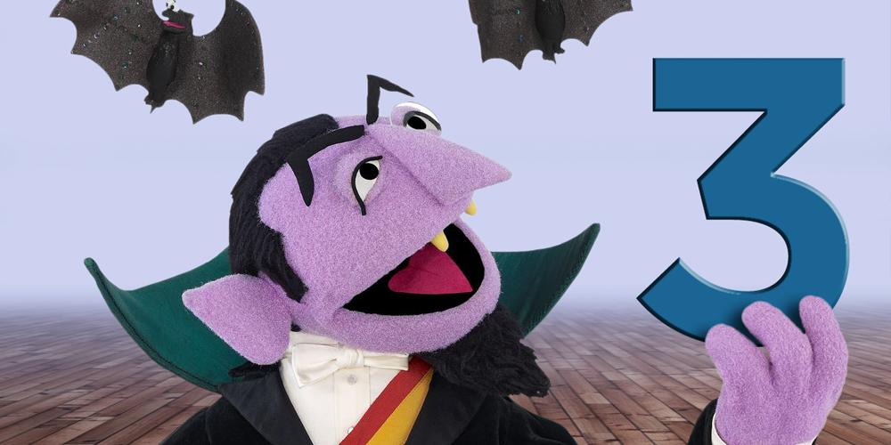 Version infantil de Dracula, el conde contar