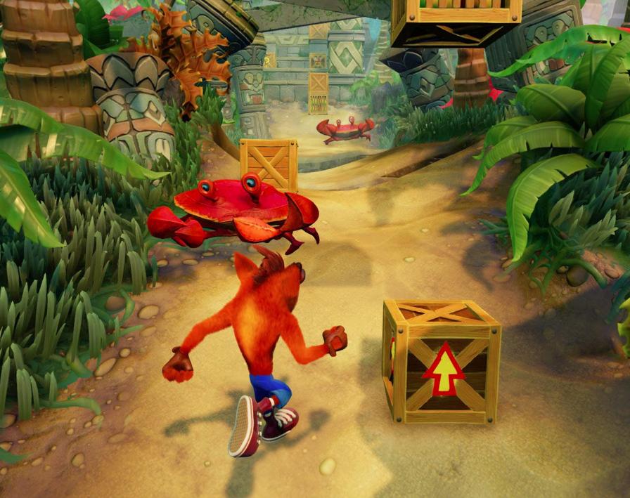 Crash bandicoot mobile descargar android ios apk