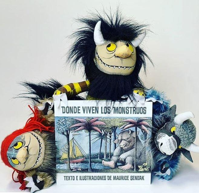 Libro infanti donde viven los monstruos
