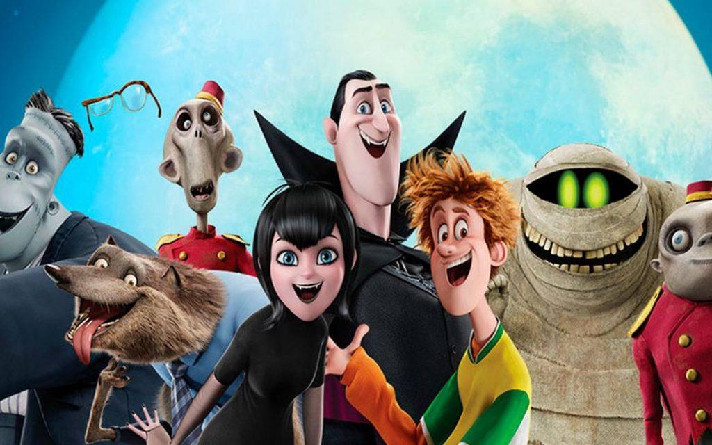 Dracula en su version animada para la pelicula infantil Hotel Transylvania
