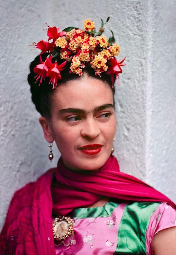 Frida Kahlo, mantenía una lectura constante, su inspiración se notaba en sus propias obras.