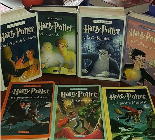 Libro Infantil Harry Potter