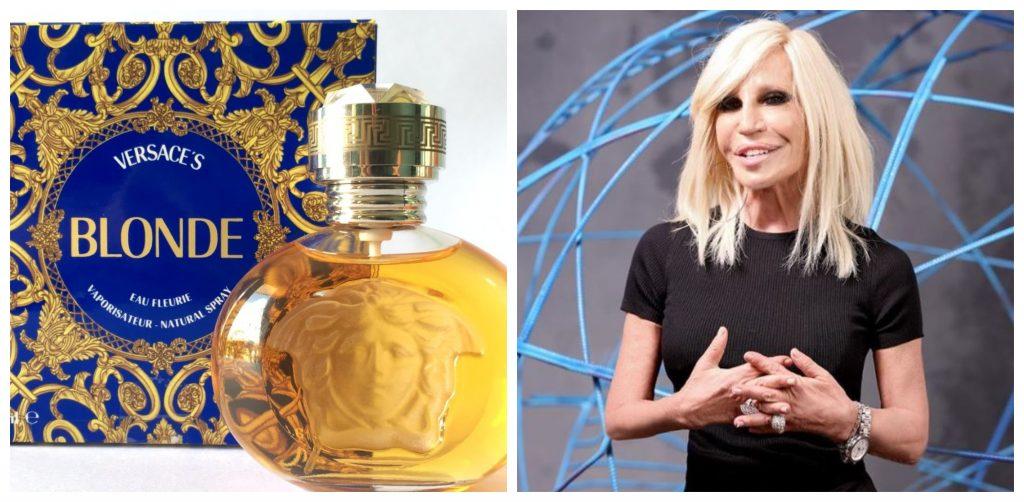 Donatella tuvo su propio perfume y su propia linea de moda llamada Versus