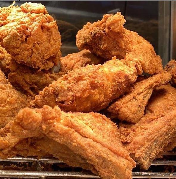 Pollo frito alimento instagram