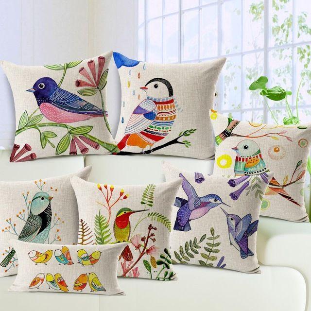 almohadas pintadas a mano, regalos sencillos y bonitos para mamá