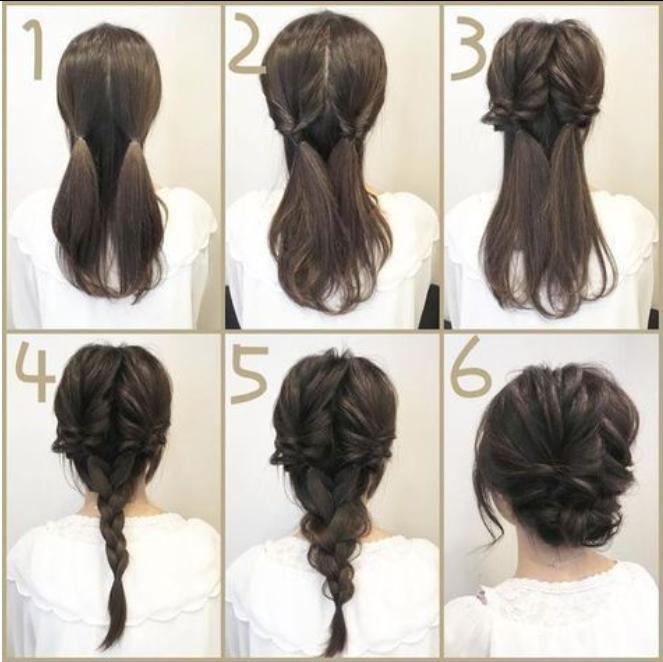 peinados faciles trenzas recogidos rapidos