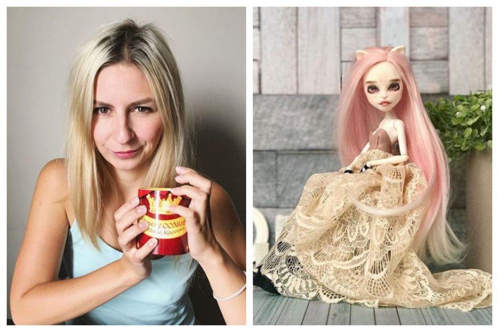 Muñecas creadas por artista rusa independiente