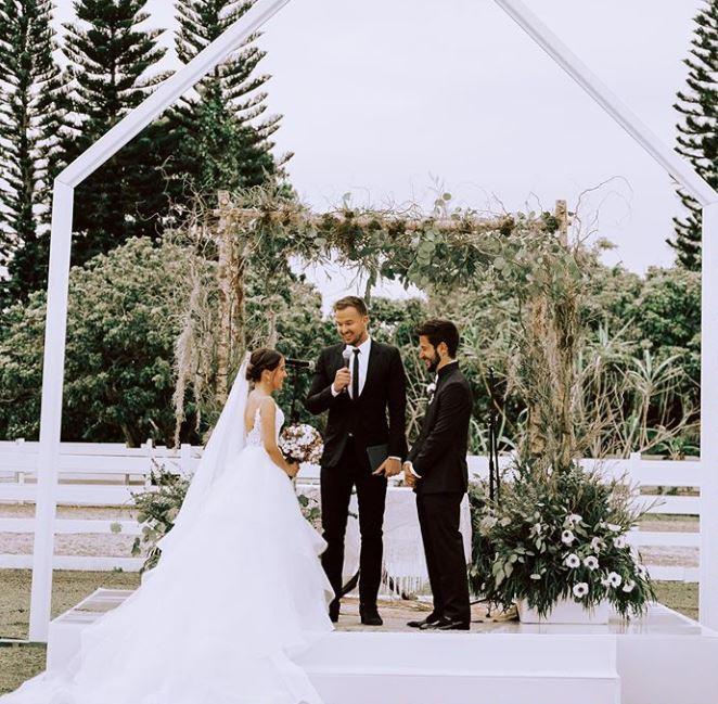 Camilo y Evaluna Montaner desde que se casaron no temen gritar  su amor a los cuatro vientos