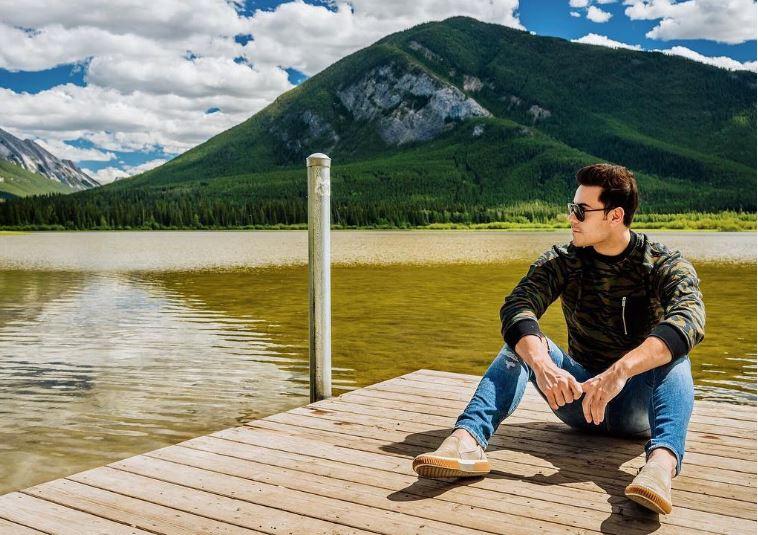 Carlos Rivera fotos vacaciones