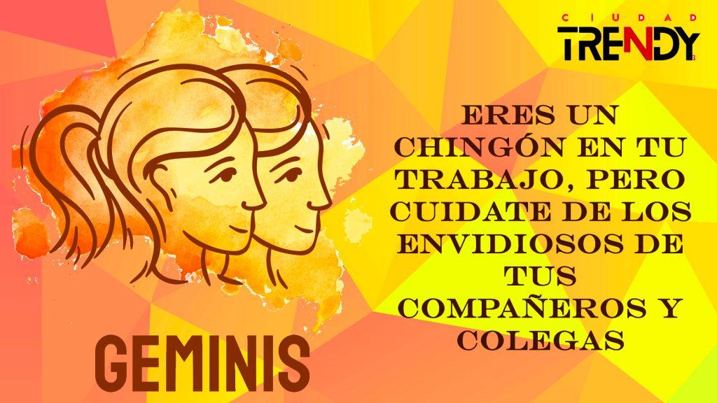 Géminis del 25 al 31 de mayo