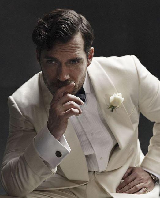 Henry Cavill en su participación en la película del agente 007