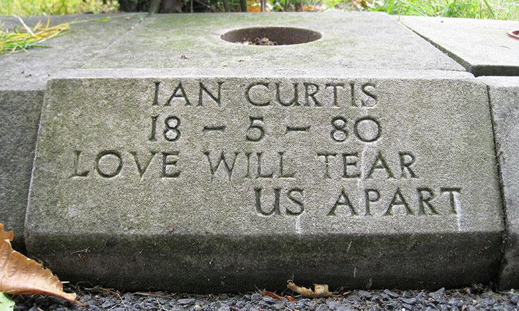 La tumba de Ian Curtis