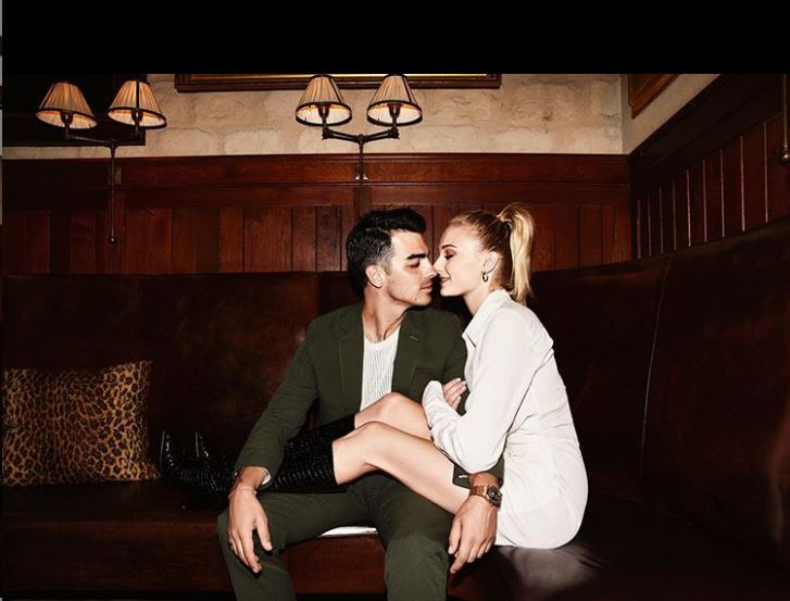 Sophie Turner y Joe Jonas se comprometieron en 2017