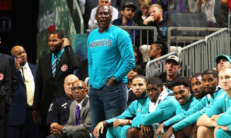 Jordan es dueño de los Charlotte Hornets