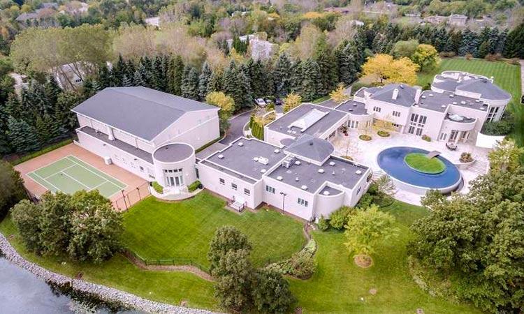 La mansión de Jordan en Chicago