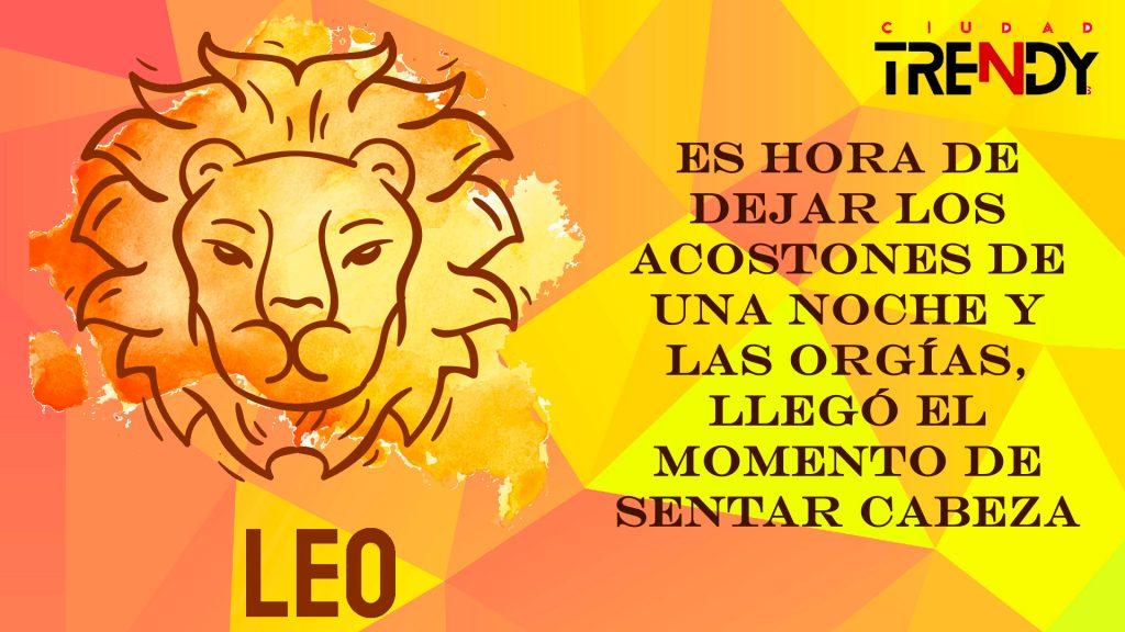 Leo del 25 al 31 de mayo