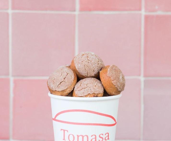 Tomasa ofrece mini conchas con servicio a domicilio