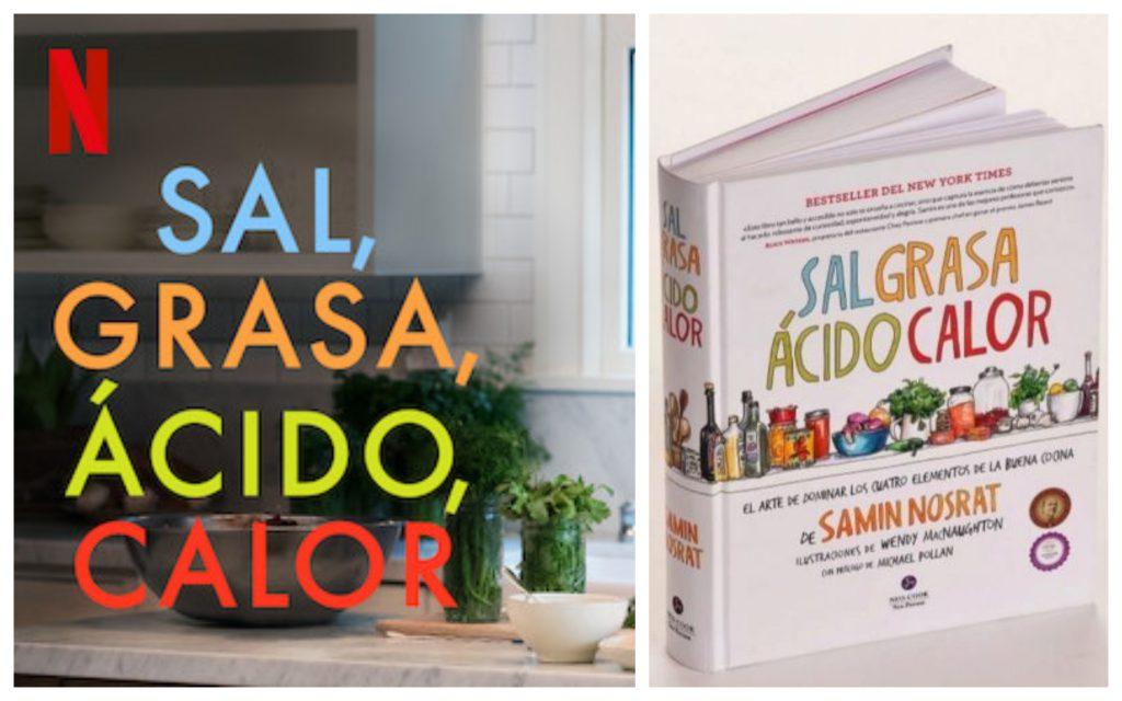Sal, grasa, ácido y calor, serie gastronómica de netflix que se basa en libro escrito por Samin Nosrat