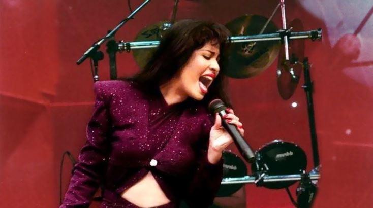 Selena Quintanilla en su último concierto