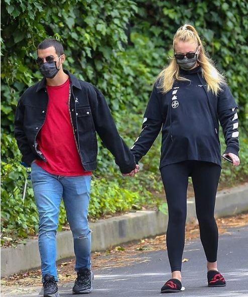 Sophie Turner y Joe Jonas esperan su primer bebé