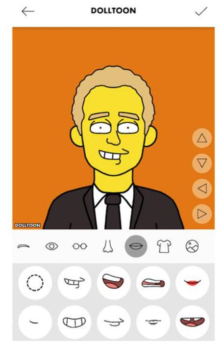 aplicaciones apps web avatar personalizado sticker