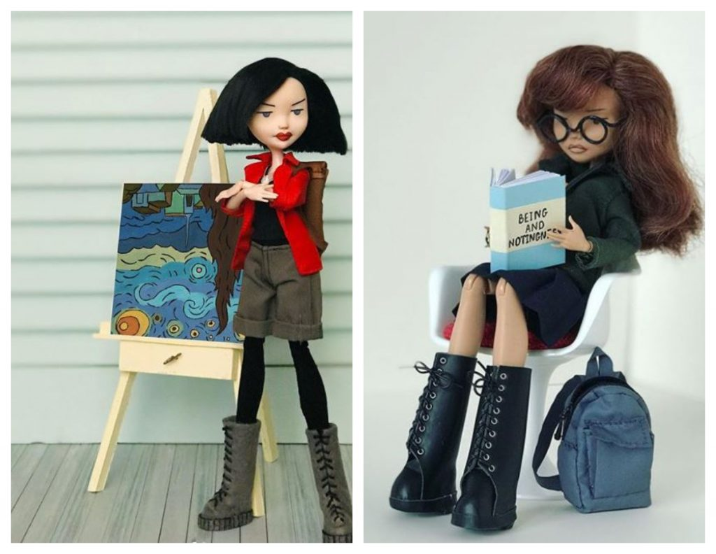 Daria y Jane muñecas