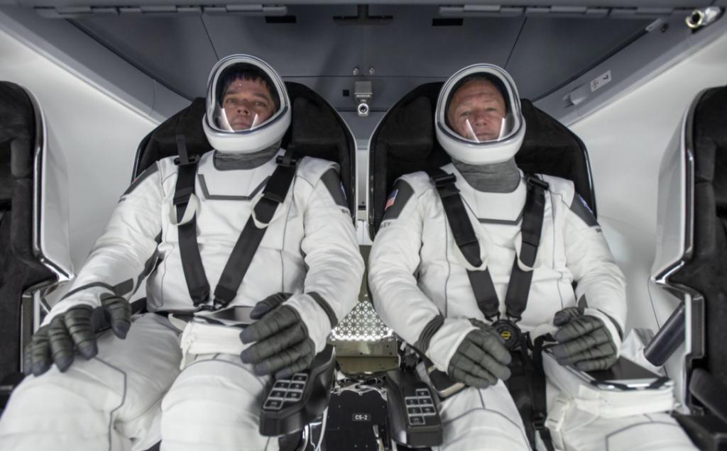 elon musk lanzamiento espacio donde ver fecha hora NASA
