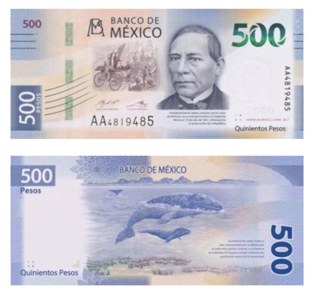 billete México más bonito mundo mejor