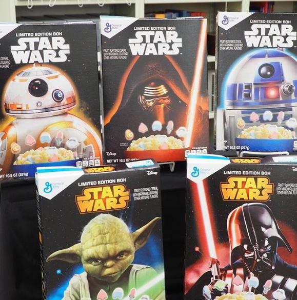 Cereal de Star Wars es distribuido por General Mils