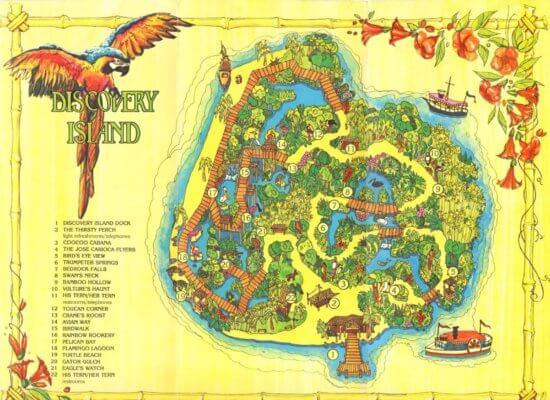 discovery island hombre arrestado acampar disney