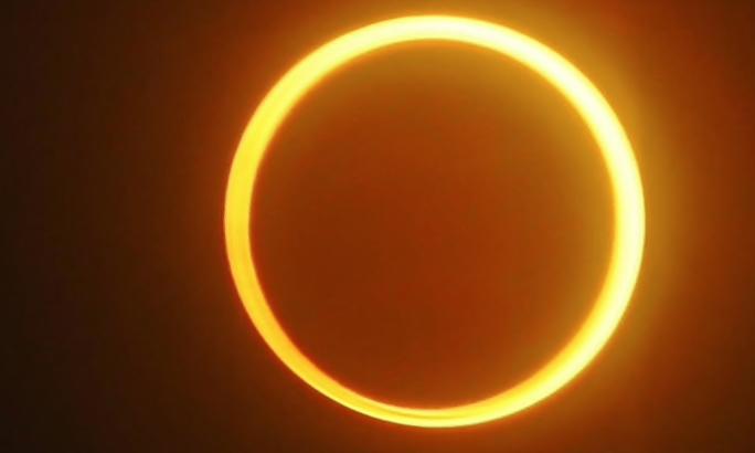 eclipse anular sol junio cuando donde ver