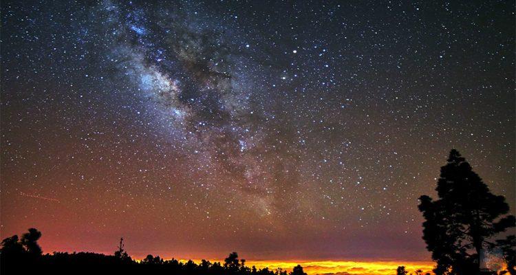 lluvia de estrellas meteoros acuaridas