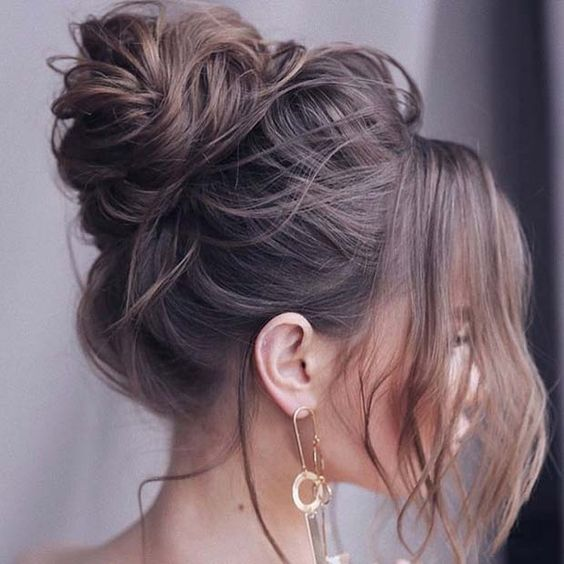 peinados para disimular el frizz