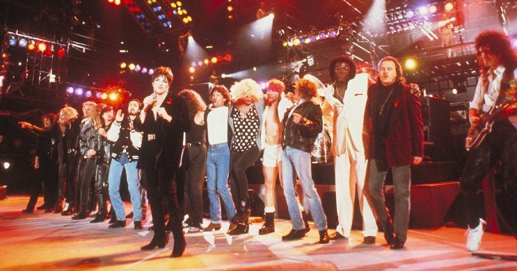 donde ver concierto queen 1992