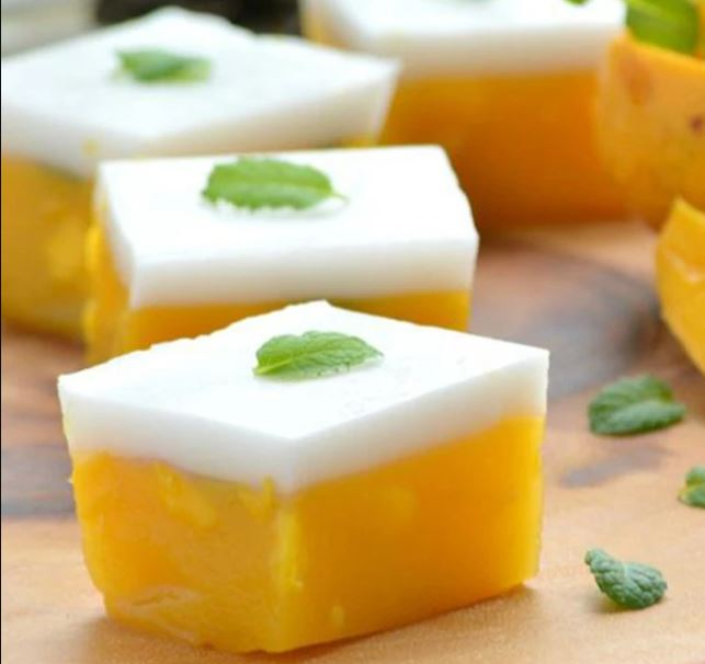 recetas para preparar gelatina de mango