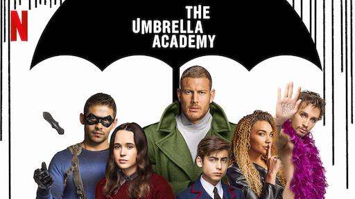 The Umbrella academy serie basada en el cómic del mismo nombre