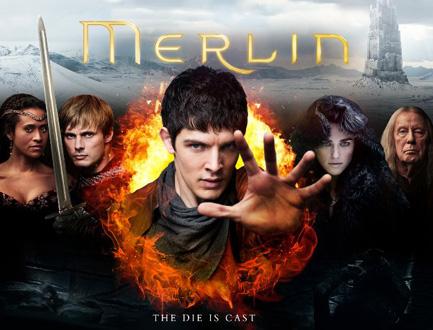 Las Aventuras de Merlín serie de fantasía disponible en Netflix