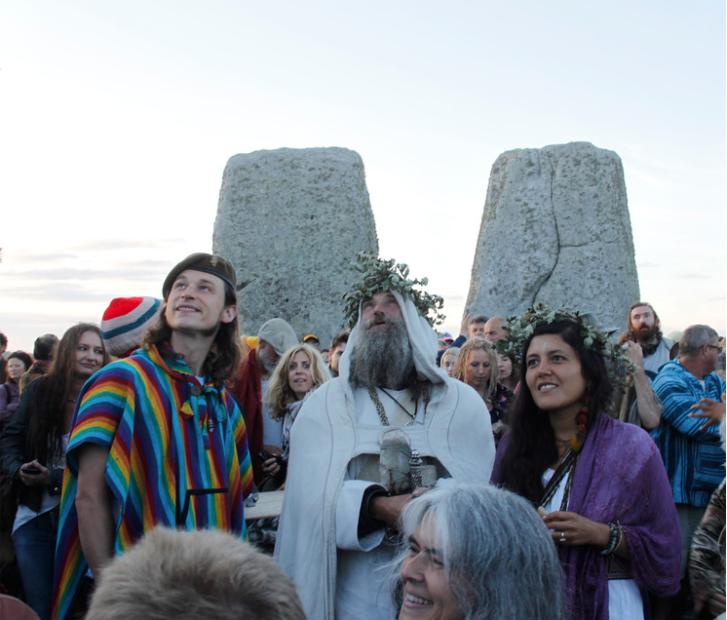 wicca Stonehenge ceremonia solsticio verano