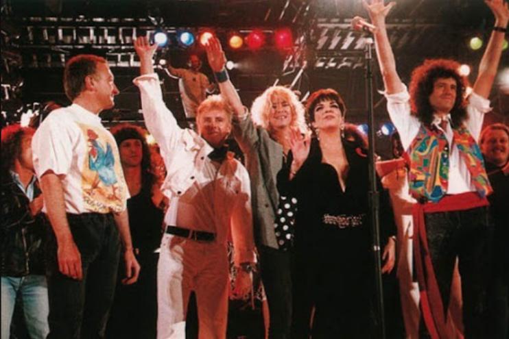 transmision concierto queen 1992 tributo Freddy Mercury