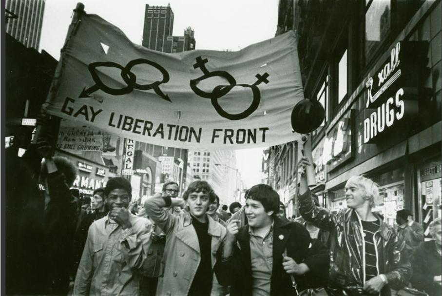 movimiento lésbico gay lgbt origen