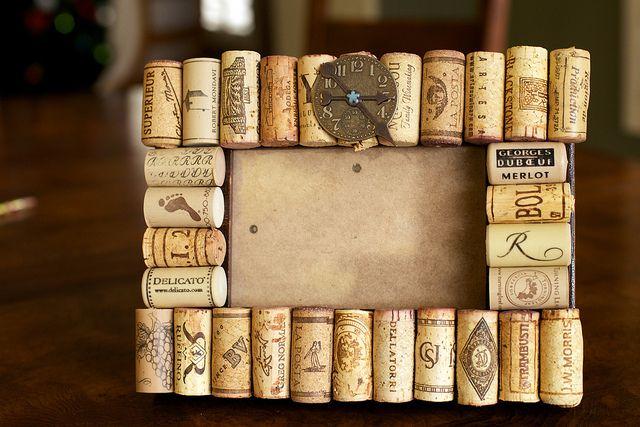 Manualidades que puedes hacer con corchos de vino usados