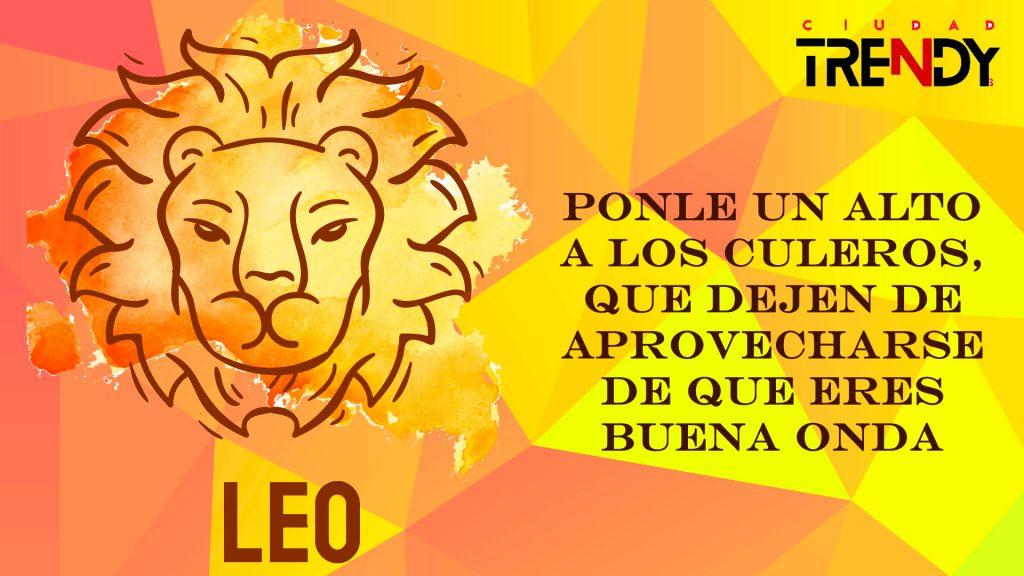 Leo del 01 al 07 de junio