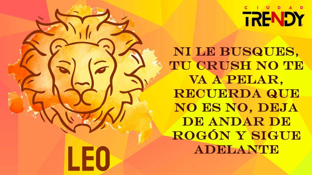 Leo del 8 al 14 de junio
