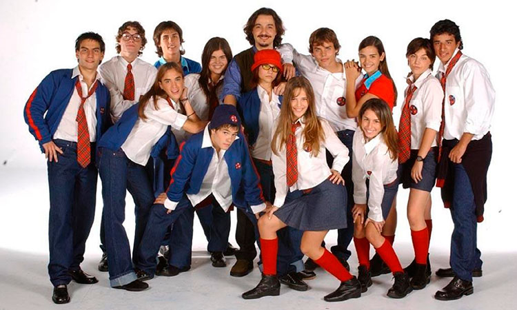 Protagonistas de Rebelde Way
