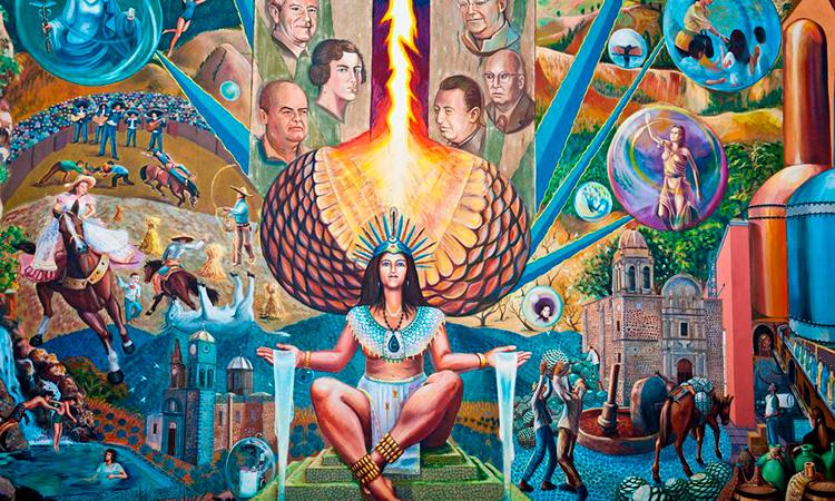 Mayahuel fue la diosa que dio origen al maguey