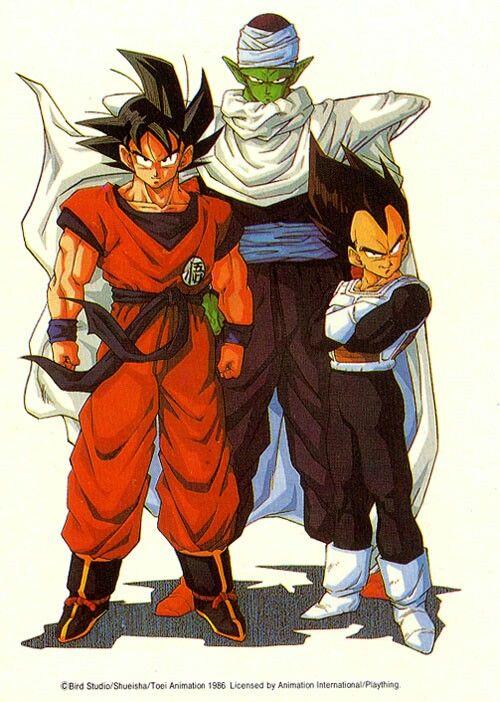 altura real personajes goku
