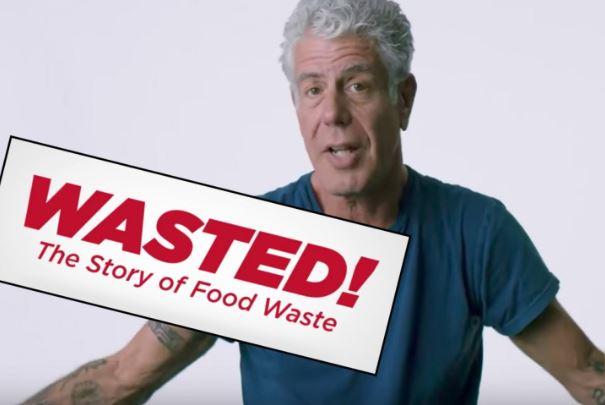 Wasted! The story of food waste documental de Anthony Bourdain a favor de la gastronomía sostenible