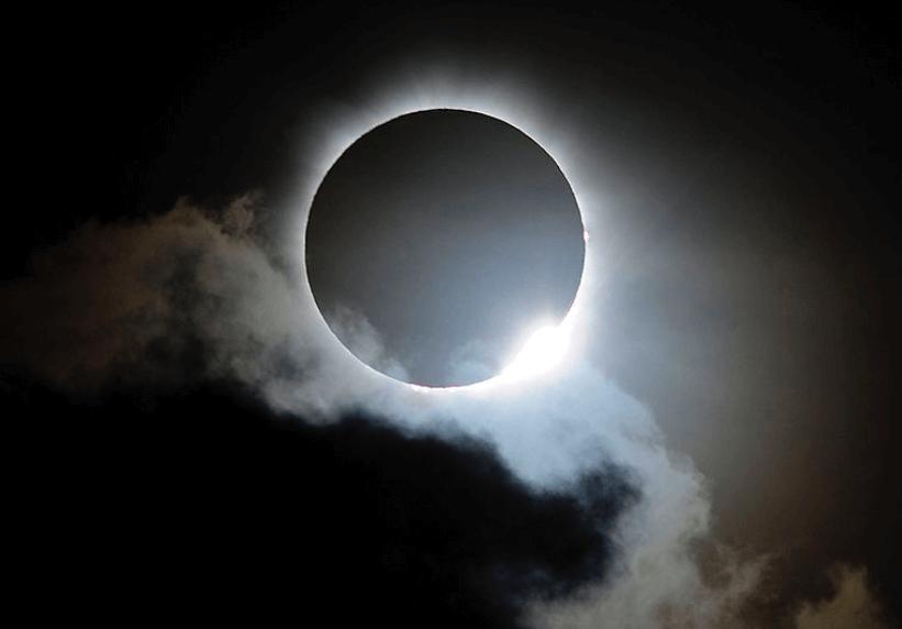 sonde cuando hora ver eclipse solar