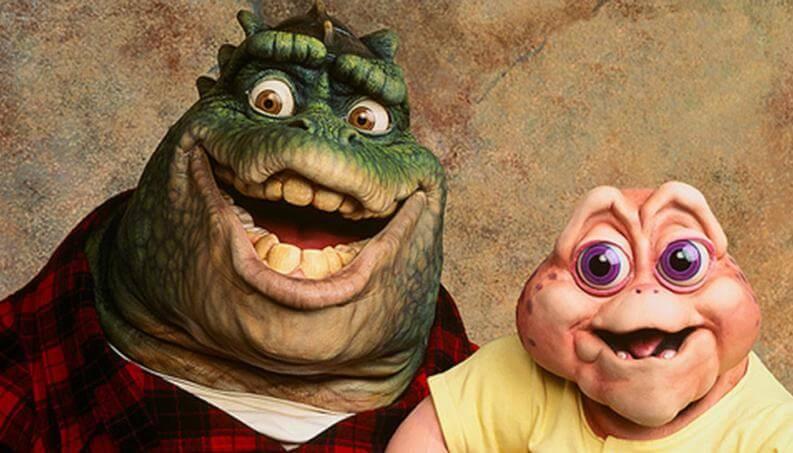 serie noventa Dinosaurios Disney Plus donde ver nene consentido