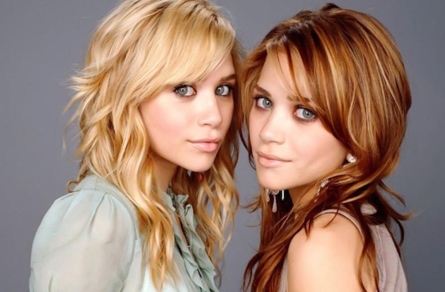 Gemelas Olsen evolución antes después